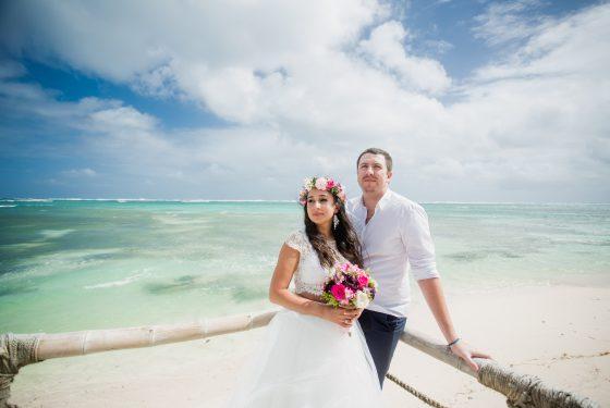 Свадебная церемония «Amor» или «Баунти» на пляже Кабеса де Торо