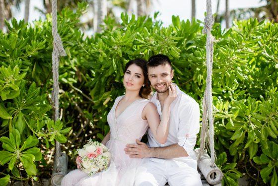 Свадебная церемония «Las Nubes» на горе Редонда