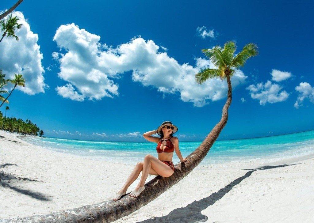 Пляж на острове Саона, Доминикана