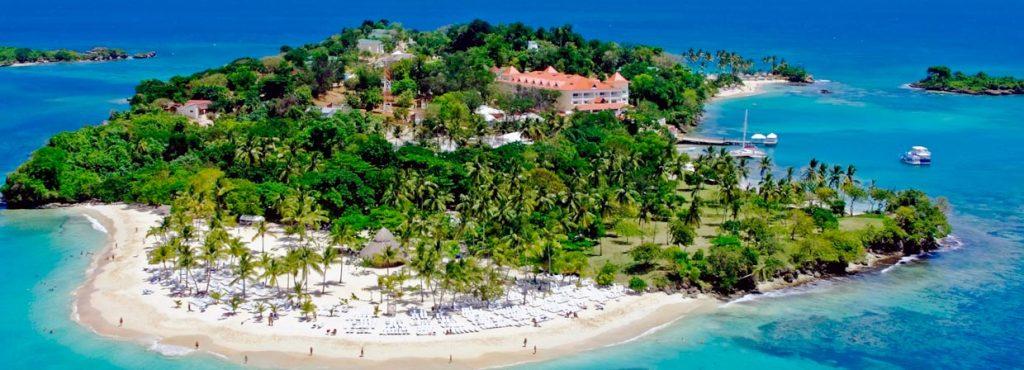 Пляжи острова Кайо-Левантадо, Доминикана