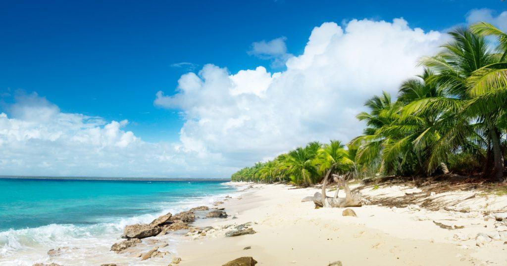 Пляж на острове Каталина, Доминикана
